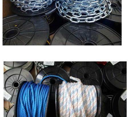 Stock corde nautiche 30 bancali