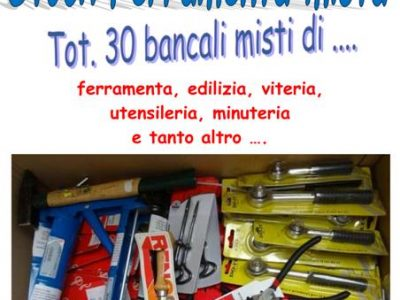 Vendita stock ferramenta mista brico 30 bancali