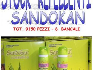 Stock repellenti naturali Sandokan 9150 pezzi