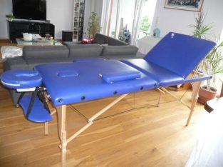Lettino pieghevole massaggio