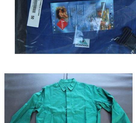 Stock abbigliamento da lavoro e altavisibilità 8.000pz