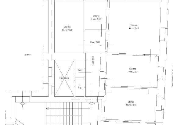 Appartamento in Via San Vito a Trieste
