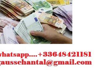 OFFERTA DI PRESTITO DENARO 2000€ A 1.700.000€ URGENTE WHATSAPP: +33 648 421 181