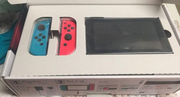 Ps4 console Nintendo switch console