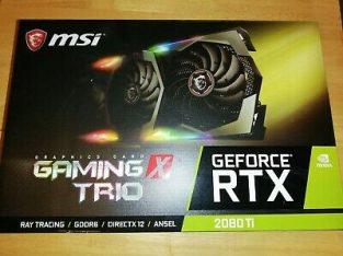 WTS GeForce GTX 2080 Ti, 1080 Ti, 1070 Ti, 2080, 1080, 1070, 1060 Ti