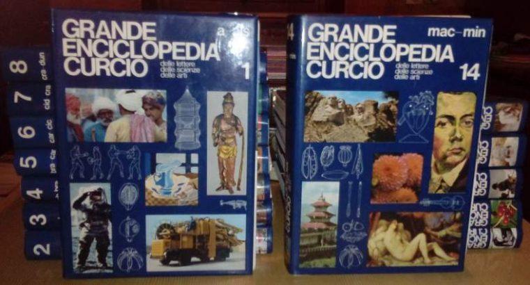 LA GRANDE ENCICLOPEDIA CURCIO 1982 14 VOLL.