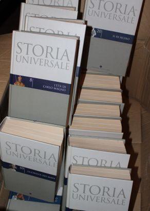 STORIA UNIVERSALE – C.d.S. 20 voll. 2004 come nuovi!
