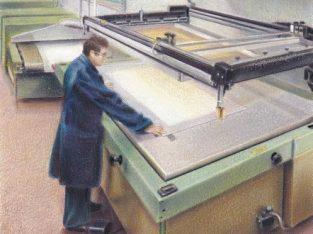 Stampatore serigrafico