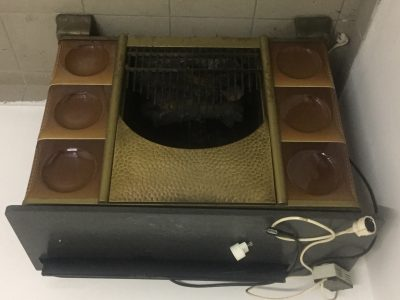 Stufa elettrica 3kw con fuoco simulatpo