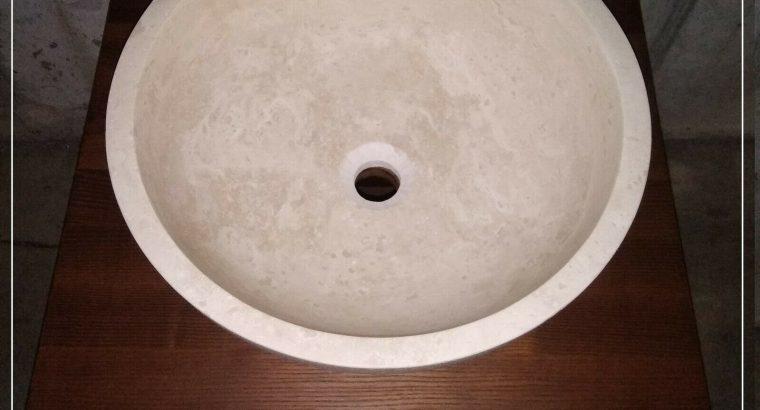 Lavabo sospeso completo di lavandino e specchiera Collezione Dogi Fontane