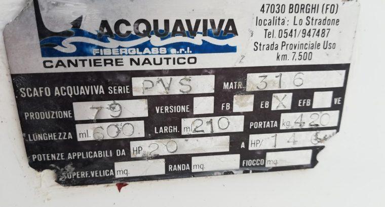 SCAFO ACQUAVIVA 600