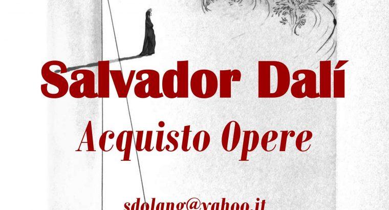 Salvador Dalì: vendita, acquisto, litografie, opere