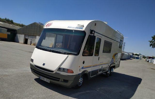 MOTORHOME EURA MOBIL 94 KW CON GARAGE